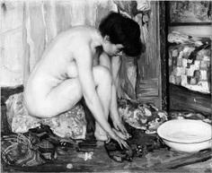 Nude, 1905 Albert Worcester