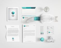 Glasswear Industries Identity on Behance #identity