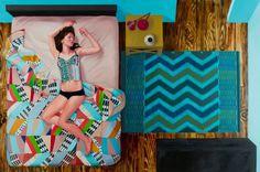 Karen Ann Myers   PICDIT #pattern #color #painting #art #colour