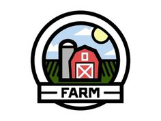 Dribbble - Farm by Augie #logo #illustration #vector #farm