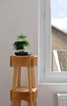 VAC Sgabello impilabile 01 da Jean Charles Amey, via Behance #furniture #jeancharlesamey #stool