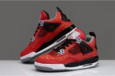 "Nike Sneakers Retro Jordan IV ""Got Em"" Laser Customs for Corporate by Absolelute #shoes"