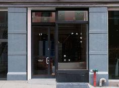 Paintbox by Lotta Nieminen #sign #store #window #logo #nieminen #lotta