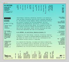 M+ Matters #website #layout #design #web