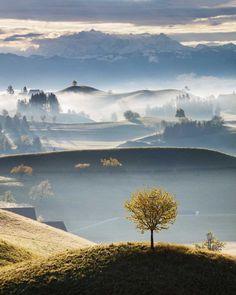 Hobbiton: Beautiful Swiss Countryside by Martin Rak