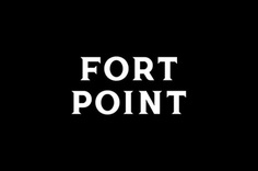 Fort Point #logo #identity #typeface #lettering
