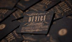 copper on black // Shane Cranford :: Art Director // Graphic Designer Journal DevicePrintshop #cards #business
