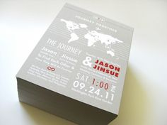 YounHee Graphic Design #wedding #letterpress #invitation