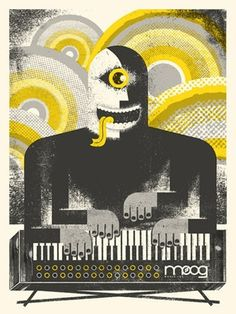 FFFFOUND! | OMG Posters! #music #illustration #poster
