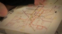 String Map | Fubiz™ #metro #map
