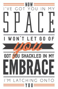 Latch by Disclosure // Poster // Lyrics // Wall Decor // 11×17 #art #poster #typography