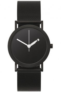 nicholas i am #minimal #watch #black