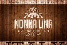 Mr. Conde #logotype #nonna #branding #cream #lina #stationery #ice