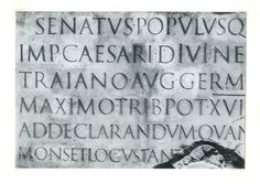 Center for Book Arts: June 2012 #cut #stone #serif #roman #typeface
