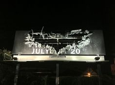 The Dark Knight Rises Billboard | THEINSPIRATION.COM l THIS IS WH▲T INSPIRES US #billboard #advertising