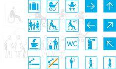 westbahn. design, leitsystem, wegeleitung, piktogramme #pictogram #iconography #icon #sign #iconic #picto #symbol #emblem