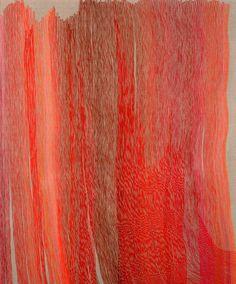 Fluid Lines in Vibrant Color -#art, #fineart, art