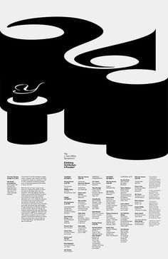 Exhibiting Architecture: A Paradox? Jessica Svendsen #design #graphic #poster #typography