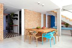Colorful Brazilian Home Inspired by Ethnic Decor Styles - InteriorZine #architecture #house #home #decor #interior