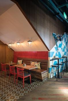El Luchador Interior Design by hcreates - Grits + Grids
