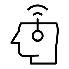See more icon inspiration related to head, healthcare and medical, human brain, body organ, imagination, creativity, thinking, connections, antenna, electronics, communications, education, user, electricity and power on Flaticon.