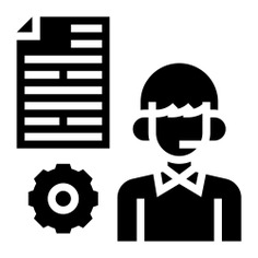 See more icon inspiration related to mentor, advisor, account, customer support, files and folders, headphones, report, communications, service, user, boy and files on Flaticon.