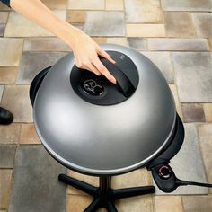 George Foreman Indoor/Outdoor Grill #tech #flow #gadget #gift #ideas #cool