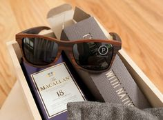 Macallan 18 & Shwood Sunglasses (NOTCOT) #product
