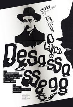 Livro_Desassossego-3 #msica #westermann #pessoa #da #do #casa #fernando #poster #sara #livro #desassossego