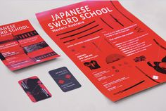 "Corey James  |  http://corey j.com""I worked with Sensei Peter James to rebrand the Japanese Sword School of WA, which needed a fresh #branding #stationery"