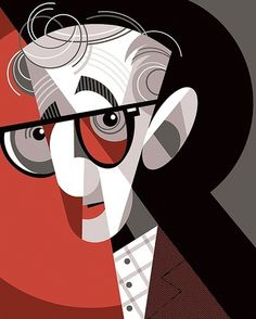 All sizes | Woody Allen | Flickr - Photo Sharing! #lobato #allen #illustration #woody #pablo