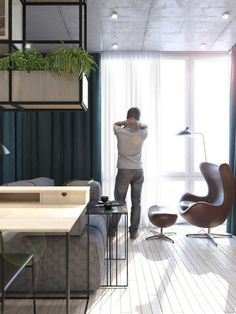Contemporary Eco-Design by Cult of Design: Apartment in Kyiv