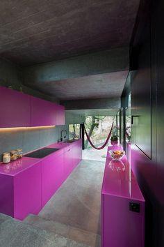 Trubel House by L3P Architekten successful architectural solution for difficult terrain - www.homeworlddesign. com (6) #interior #kitchen #architecture #design