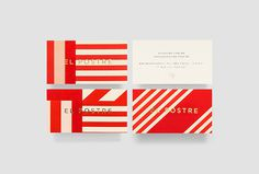 El Postre by Anagrama #business card #branding