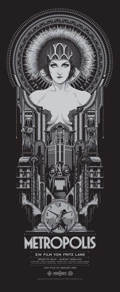 ken taylor metropolis.jpg #illustration #metropolis #poster