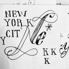 Francisco J Hernandez / Portfolio #new #city #type #york #nyc #typography