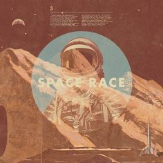 All sizes | space race | Flickr - Photo Sharing! #design #poster