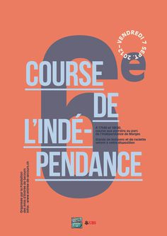 (via 6e Course | Benoit Dumont | Design graphique |) #poster