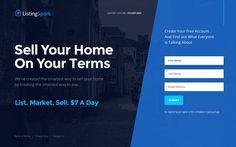 Daily UI #003 – Landing Page