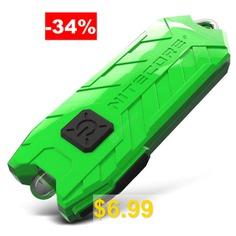 Nitecore #TUBE #USB #Mini #Flashlight #Keychain #2 #Modes #45LM #- #GREEN
