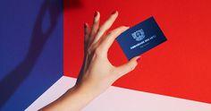 ambassade des arts blue packaging branding modern cool inspiration designblog www.mindsparklemag.com