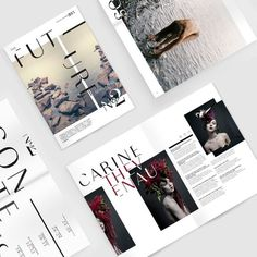 Art Direction and Design by www.vanessavanselow.com #design #experimental #direction #art #layout #magazine #typography