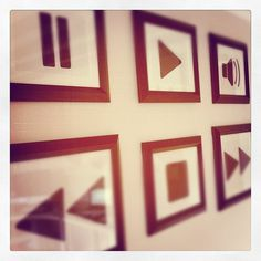 Music Wall Art - drawn in marker #instagram #craft #wall #art #music