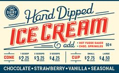 Bigicecream #cream #type #ice #typography