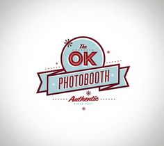 The OK Photobooth logo - FOUNDRY CO #logo