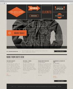 FFFFOUND! | Graphic-ExchanGE - a selection of graphic projects #website #grid #layout #color