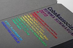 C&A New Years Card - FPO: For Print Only #card #print #foil