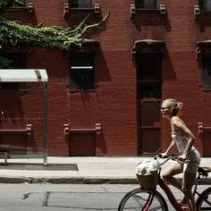 NEW YORK CITY on Behance #nyc #red #bike