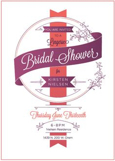 West end girl #west #girl #shower #bridal #invitations #vintage #end
