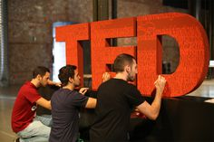 TEDxMadrid #calligraphy #red #ted #madrid #unifinished #tedx #type #typography